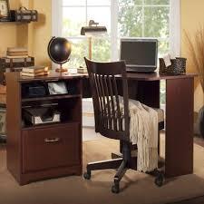bush cabot collection corner desk harvest cherry wc31415 03