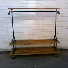 Diy Pipe Coat Rack Plumbing Pipe Clothes Rack Build A Simple Stylish Industrial Style 64