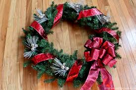 Wrap Ribbon On Wreath