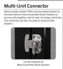 Captivating Screenflex GL Multi Unit Connector ...