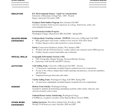 Sample Resume For Freshers With Internship Experience Accounting ...
