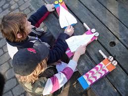 super fast paper plane launcher steps