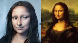 chinese makeup artist transformed herself into mona lisa