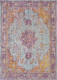 surya antioch aic 2307 dark purple sea foam rug contemporary hall and stair runners by plushrugs