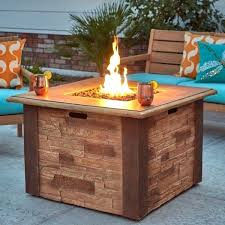 gas fire pits on stacked stone gas fire pit patio gas fire pit tables