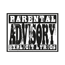 Logo Parental Advisory lyrics vector free download