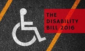 rights of persons disabilities bill kitabee rights of persons disabilities bill 2016
