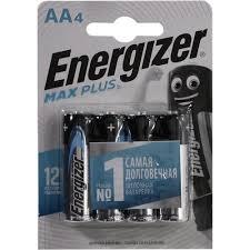 <b>Батарейки AA Energizer</b> MAX Plus AA-LR6 4 шт. — купить, цена и ...