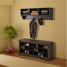 Prepac Fremont Espresso Entryway Cubbie Shelf And Coat Rack Fascinating Image Result For Unique Wall Mounted Entryway Coat Rack 42