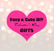 diy valentines gifts cute affordable unique ideas