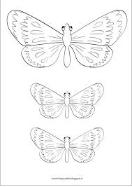 Farfalle Da Colorare E Ritagliare