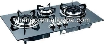 propane gas cooktop stove top built in counter 3 burner burners80 top