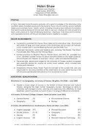 good cv template luxury good cv template three blocks
