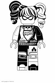 Image not available for color product description. Harley Quinn Coloring Pages From Lego Movie Coloring Pages Printable Com