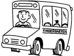 Small Picture Kindergarten Bus Driver Coloring Pages Best Place to Color