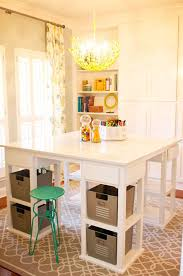 Full Size of Storage:craft Table With Storage Drawers In Conjunction With Craft  Table With ...