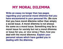 business ethics c moral ethics ethical dilemma 3