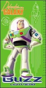 Toy Story Buzz Lightyear Growth Chart