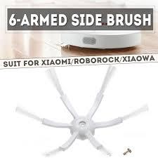 <b>Xiaomi</b> Household <b>Original New</b> 6 Arms Side Brush for Roborock ...