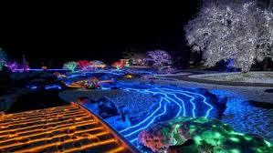 Image Ideas The Elaborate Japanese Garden Light Display Is On Until Feb At Nikka Yuko In Lethbridge Alta screenshotyoutube Cbcca Winter Lights Illuminate Natural Beauty Of Lethbridge Japanese