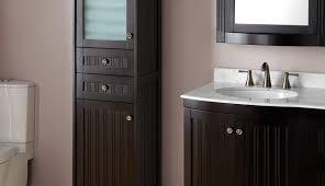 white adorable tower ideas vanity countertop units linen cabinets bathroom floor for corner case cabinet