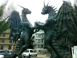 dragon yard statue large statues for garden canada