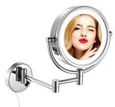 best led lighted hotel bathroom makeup