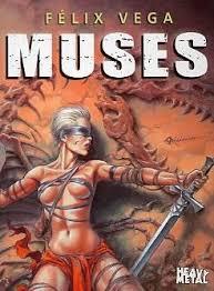 Muses:Art of Felix Vega – Heavy Metal Magazine