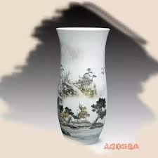 ceramic artists to create water and chinese painting techniques has the same characteristic halo the blue and white porcelain decorative art s