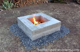 turn your backyard into a camping area with this diy outdoor fire pit