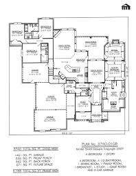 Modern 4 Bedroom House Plans 4 Bedroom 1 Story House Plans Catchy Interior Home Design Kids