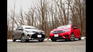 2015 Honda <b>Fit</b> vs. 2015 <b>Toyota</b> Yaris - YouTube
