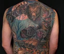 Mrkněte Na Tetování Inspirované World Of Warcraft Je Přes Celá Záda
