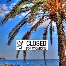 Resultado de imagen de imagenes blog closed for summer holidays