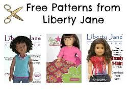 Free Printable American Girl Doll Clothes Patterns Unique Free Liberty Jane Patterns Work On American Girl Dolls