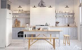 Light Wood Kitchen Table Kitchen Brown Kitchen Table Pendant Light Simple Kitchen White