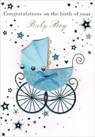 Congratulations On Your Baby Boy Congratulations On The Birth Of Your Baby Boy Babies Infants Card