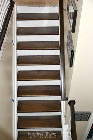 Stair riser installation
