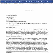 in damage control sony targets reporters krebs on security a letter from sony s lawyers