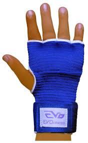 Hand Wrap Gloves Evo Fitness Elasticated Gel Inner Gloves Boxing Bag Hand Wraps Mma