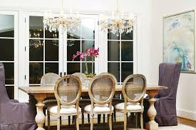 crystal chandelier dining room farm house table traditional with 2 chandeliers abstract swarovski cry crystal chandelier dining room swarovski