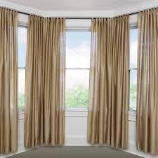 bay window curtain rod set 5 8 full size