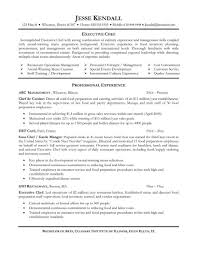 cook resume sample  best business template