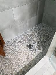 re tiling bathroom floor. Bathtub Awesome Stone Grey Mosaic Tile Re Tiling Bathroom Floor