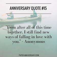 40 Anniversary Quotes For Her Sweep Her Off Her Feet Paper Delectable Anniversary Quote