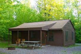 Places to stay near ricketts glen. Ricketts Glen State Park Wooden Cabins State Parks Glen