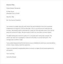 Complaints Letter Format Complaints Letter For Poor Service Apparel Dream Inc