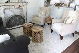 looking for the perfect area rug for your living room this neutral white rug is