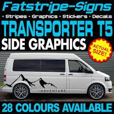 Camper Van Graphics Design Details About Vw Transporter T5 Graphics Stickers Stripes