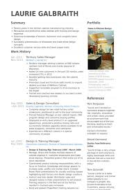 Territory Sales Manager Resume Samples Visualcv Resume Samples